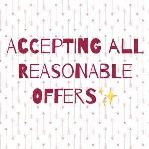 Other - ALL OFFERS CONSIDERD! REASONABLE OFFERS ACCEPTED😊